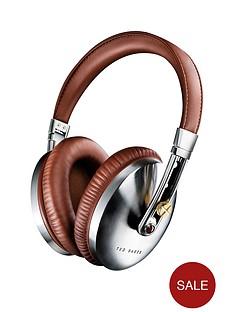 ted-baker-rockall-over-ear-headphones-brown