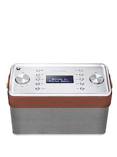 ted-baker-finisterre-dabfm-radio-and-bluetooth-speaker-brown