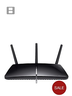 tp-link-ac1750-dual-band-gigabit-router-for-adsl2-phone-line-black