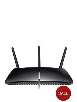 tp-link-ac1750-dual-band-gigabit-router-for-adsl2-phone-line-black