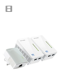 tp-link-500mbps-powerline-triple-kit-with-300mbps-wi-fi-white