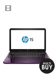 hp-15-r208na-intelreg-coretrade-i3-processor-8gb-ram-1tb-hard-drive-wi-fi-bgn-156-inch-laptop-purple-with-optional-microsoft-office-365-personal