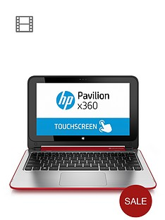 hp-pavilion-360-11-n012na-intelreg-celeronreg-processor-4gb-ram-500gb-hard-drive-wi-fi-bgn-bt-116-inch-touchscreen-2-in-1-laptop-red