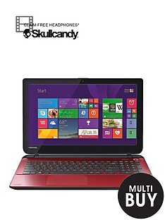 toshiba-l50-d-b-13p-amd-a8-processor-8gb-ram-1tb-hard-drive-wi-fi-156-inch-laptop-with-optional-microsoft-office-365-personal-red