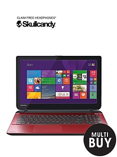 toshiba-l50d-b-amd-a6-quad-core-processor-4gb-ram-1tb-storage-156-inch-laptop-with-optional-microsoft-office-365-personal-red