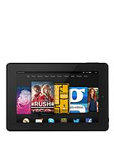 Fire HD 7, Quad Core, 1GB RAM, 8GB Storage, 7 inch Touchscreen Tablet - Black