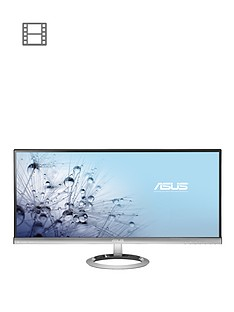 asus-asus-sonicmaster-mx299q-29in-ultra-widescreen-ultra-slim-bezel-ah-ips-led-monitor-blacksilver-with-bang-olufsen-icepower-speakers