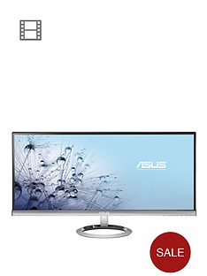 asus-sonicmaster-mx299q-29in-ultra-widescreen-ultra-slim-bezel-ah-ips-led-monitor-blacksilver-with-bang-olufsen-icepower-speakers