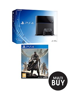 playstation-4-500gb-console-with-destiny-and-optional-3-or-12-months-playstation-plus