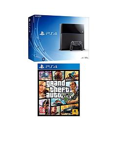 playstation-4-500gb-console-with-grand-theft-auto-v-and-optional-3-or-12-months-playstation-plus