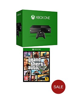 xbox-one-500gb-console-with-grand-theft-auto-v-and-optional-3-or-12-months-xbox-live