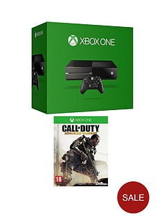 xbox-one-console-with-call-of-duty-advanced-warfare-and-optional-3-or-12-months-xbox-live