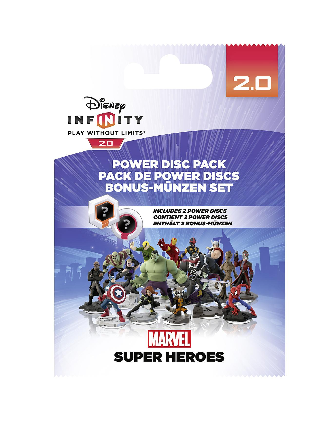 2.0 - Marvel Power Disc Pack at Littlewoods