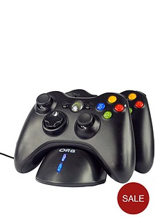 xbox-360-twin-charging-dock-black