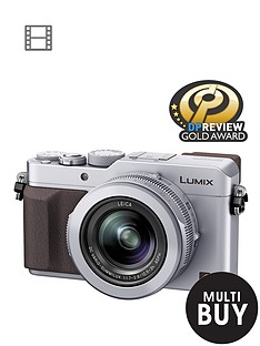 panasonic-claim-pound100-cashback-dmc--lx100-ebs-128-megapixel-compact-camera-with-4k-video-wifi-silver