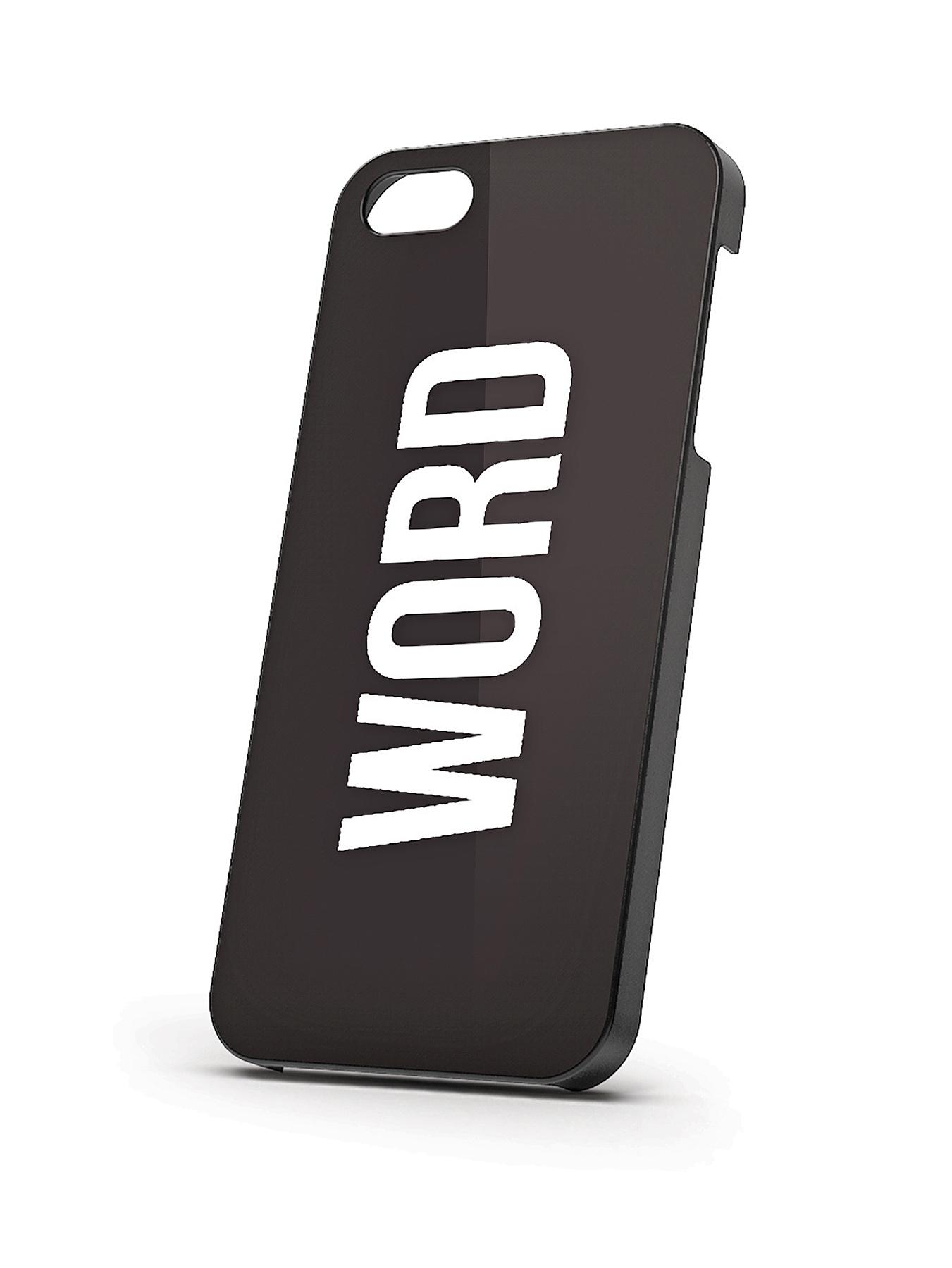 IPhone 5S Word Case at Littlewoods