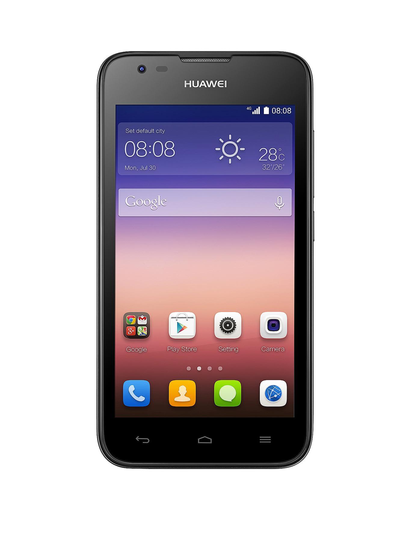 Y550 Smartphone  Black