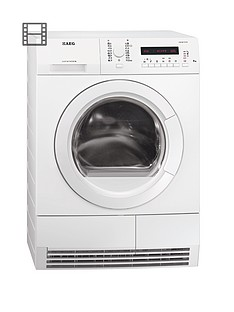 aeg-t76280ac-8kg-load-condenser-sensor-dryer-white
