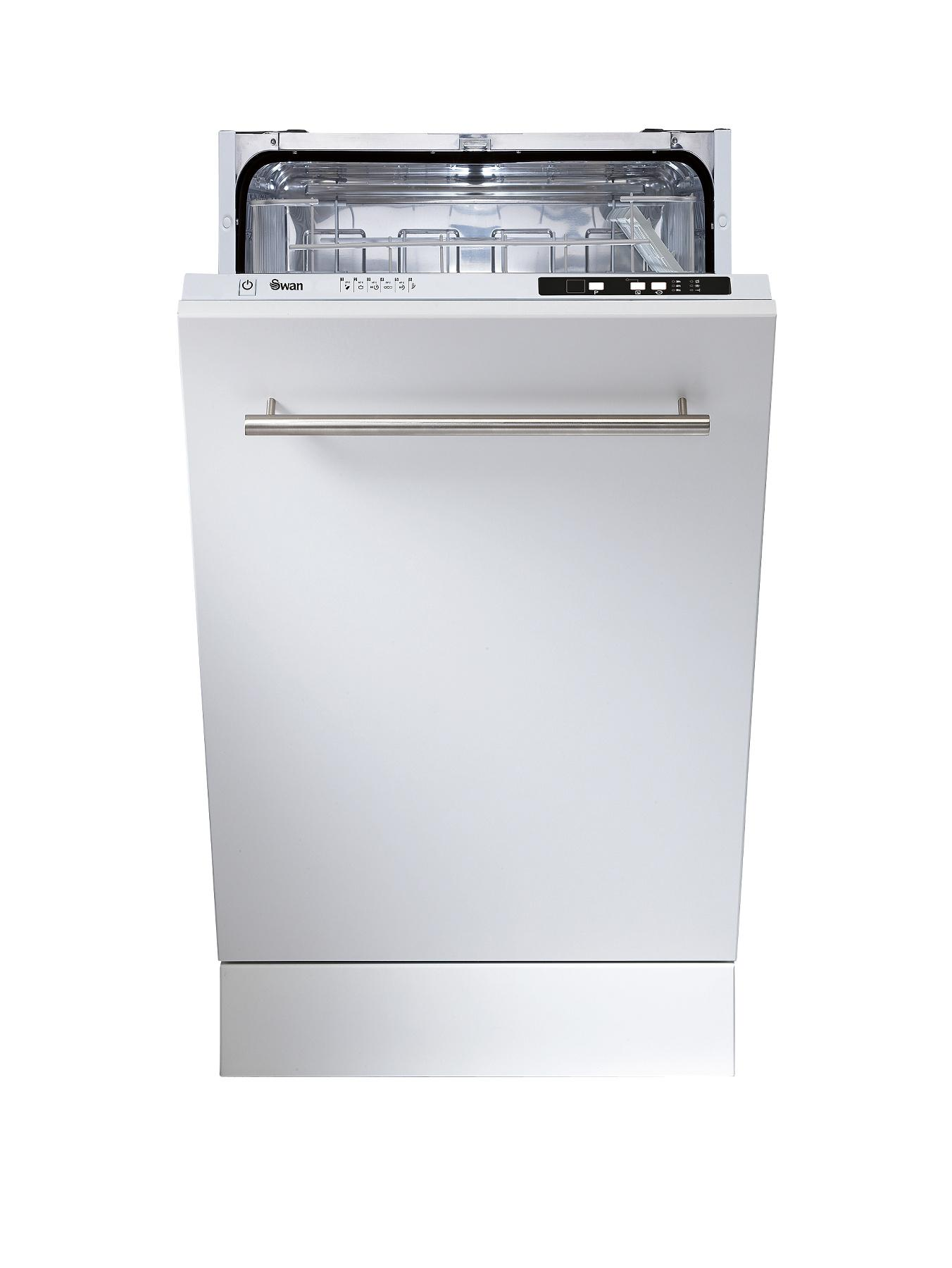 SDWB2010 10 Place Slimline Integrated Dishwasher - White at Littlewoods