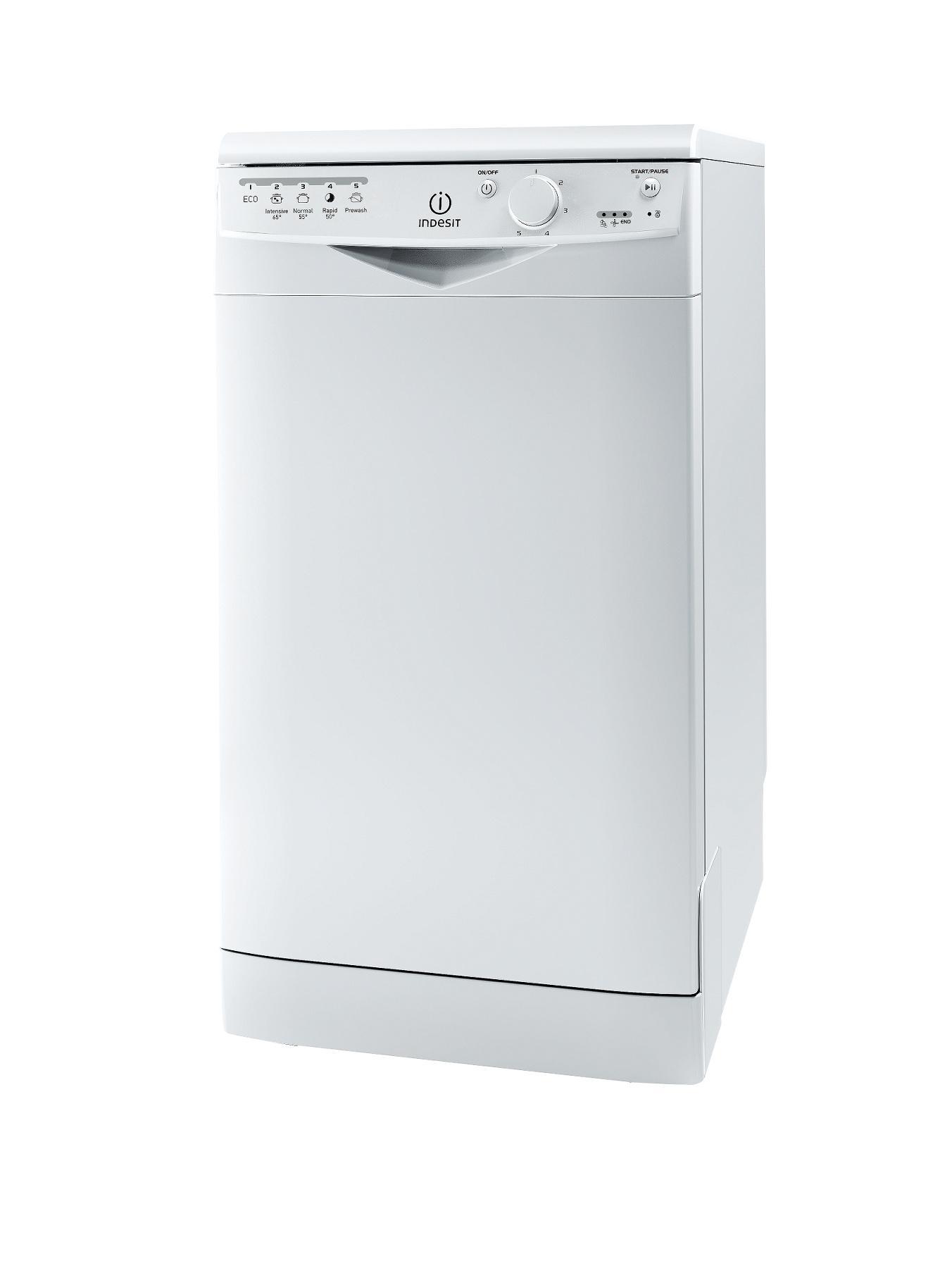 DSR15B 10-Place Slimline Dishwasher - White at Littlewoods
