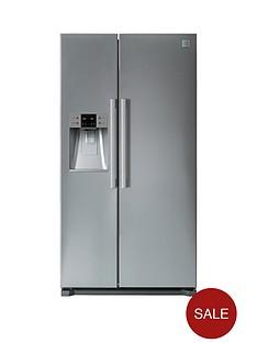 daewoo-fraq19dcs-plumbed-frost-free-usa-style-fridge-freezer-silver