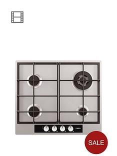 aeg-hg654440sm-60cm-built-in-gas-hob-stainless-steel