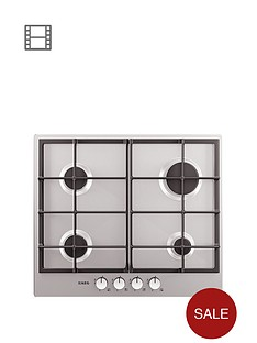 aeg-hg654320nm-60cm-built-in-gas-hob-stainless-steel