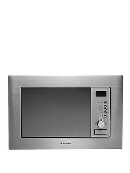 Hotpoint Newstyle Mwh1221X BuiltIn Microwave Oven With Grill  Stainless Steel