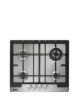 zanussi-zgg66424xa-60-cm-built-in-gas-hob-stainless-steel