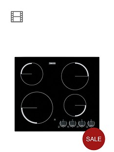zanussi-zev6940xbv-60cm-built-in-ceramic-hob-black