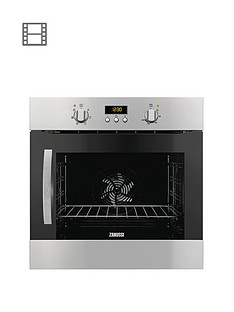 zanussi-zoa35526xk-60-cm-built-in-single-electric-oven-stainless-steel