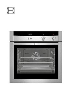 neff-b15m52n3gb-built-in-single-electric-oven-stainless-steel