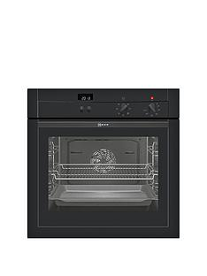 neff-b14m42s3gb-built-in-single-electric-oven-black