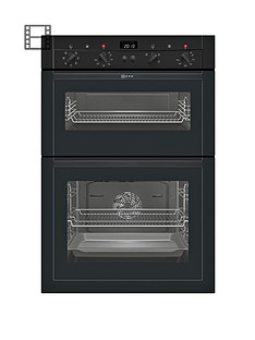 neff-u14m42s3gb-built-in-double-electric-oven-black