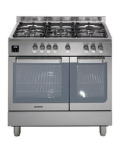 hoover-hgd9395ix-90cm-dual-fuel-range-cooker-twin-cavity-stainless-steel