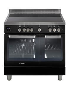 hoover-hvd9395bl-90cm-electric-range-cooker-with-ceramic-top-black