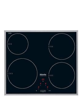 miele km6115 induction hob black. Black Bedroom Furniture Sets. Home Design Ideas