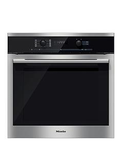 miele-h6160b-60cm-built-in-single-electric-oven-steel