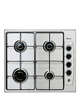SXB2030S 60cm Built-In Gas Hob - Stainless Steel