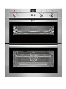 neff-u17s32n3gb-60cm-built-under-electric-double-oven-stainless-steel