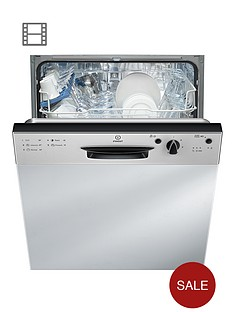 indesit-dpg15b1nx-built-in-dishwasher-silver