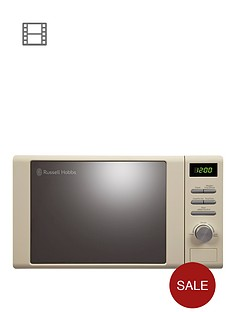 russell-hobbs-rhm2064c-heritage-microwave-cream