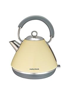 morphy-richards-102003-accents-pyramid-kettle-cream