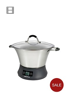 morphy-richards-461007-supreme-precision-slow-cooker-stainless-steel