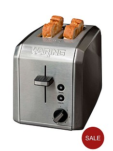 waring-wt200u-2-slice-toaster-brushed-stainless-steel
