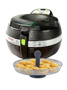 tefal-fz707240-1kg-actifry-snacking-low-fat-healthy-fryer-black