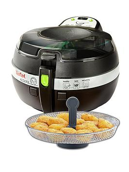 Tefal Fz707240 1Kg Actifry Snacking Low Fat Healthy Fryer  Black