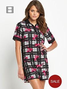 influence-buttoned-t-shirt-dress