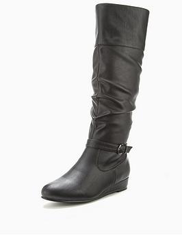 shoe-box-anastasia-low-wedge-knee-boots-black