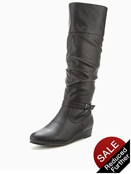 shoe-box-anastasia-low-wedge-knee-boots-black